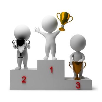Gagnant podium