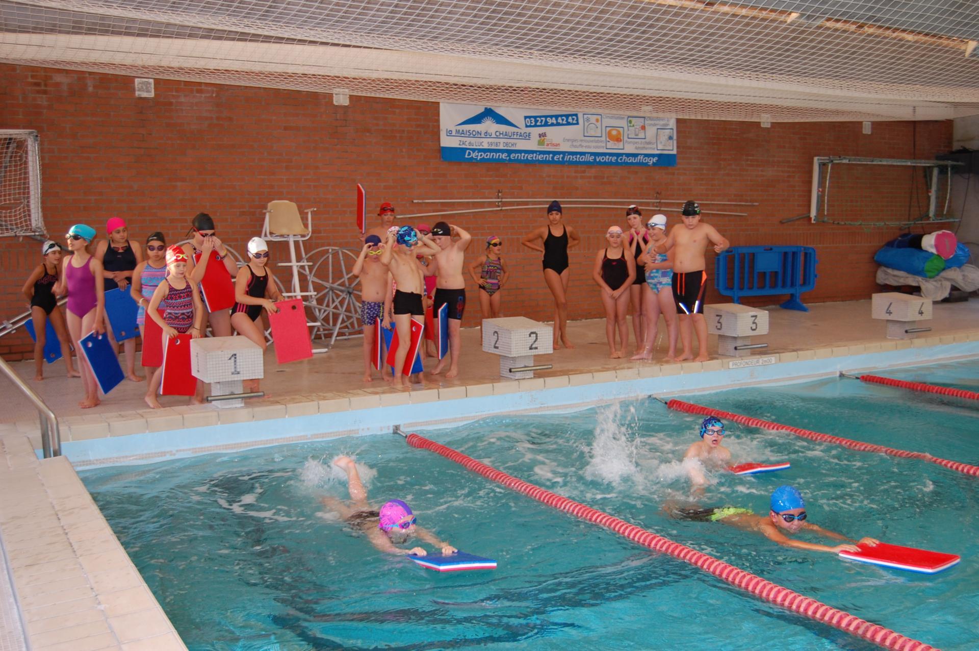 Waziers natation jeunes 1